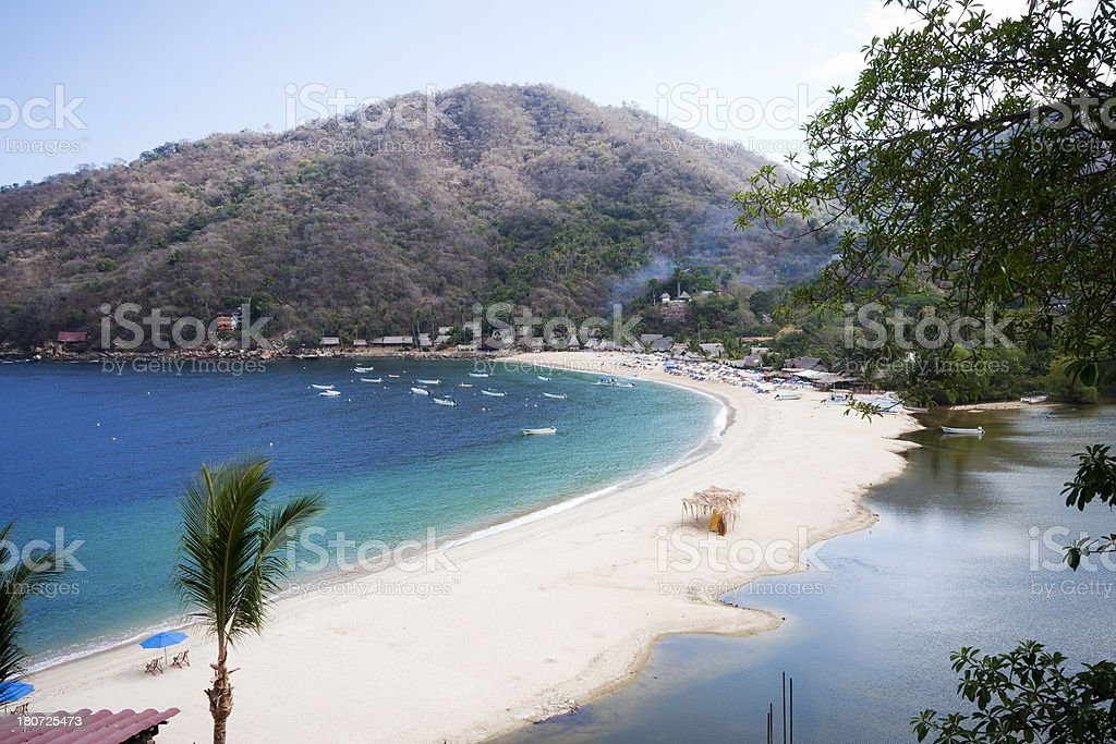 Yelapa Fishing Village Puerto Vallarta, Mexico royalty-free stock photo