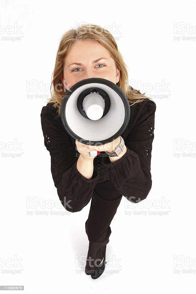 yelling!!!! royalty-free stock photo