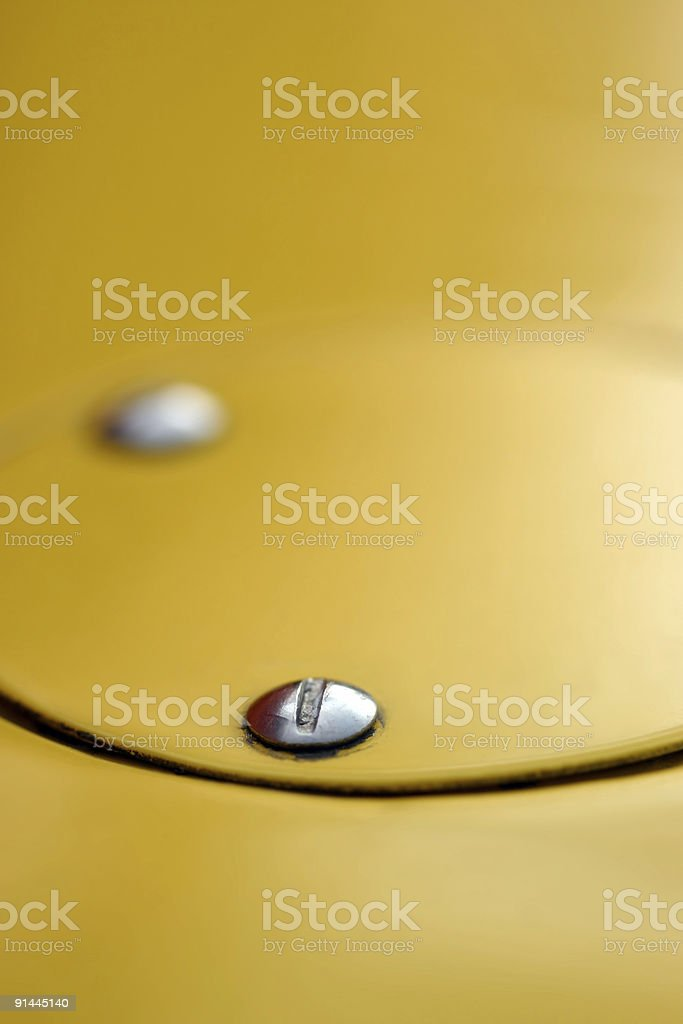 Yellow abstract royalty-free stock photo