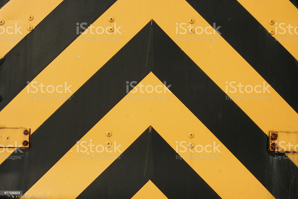 Yellow and Black Attack royalty-free stock photo