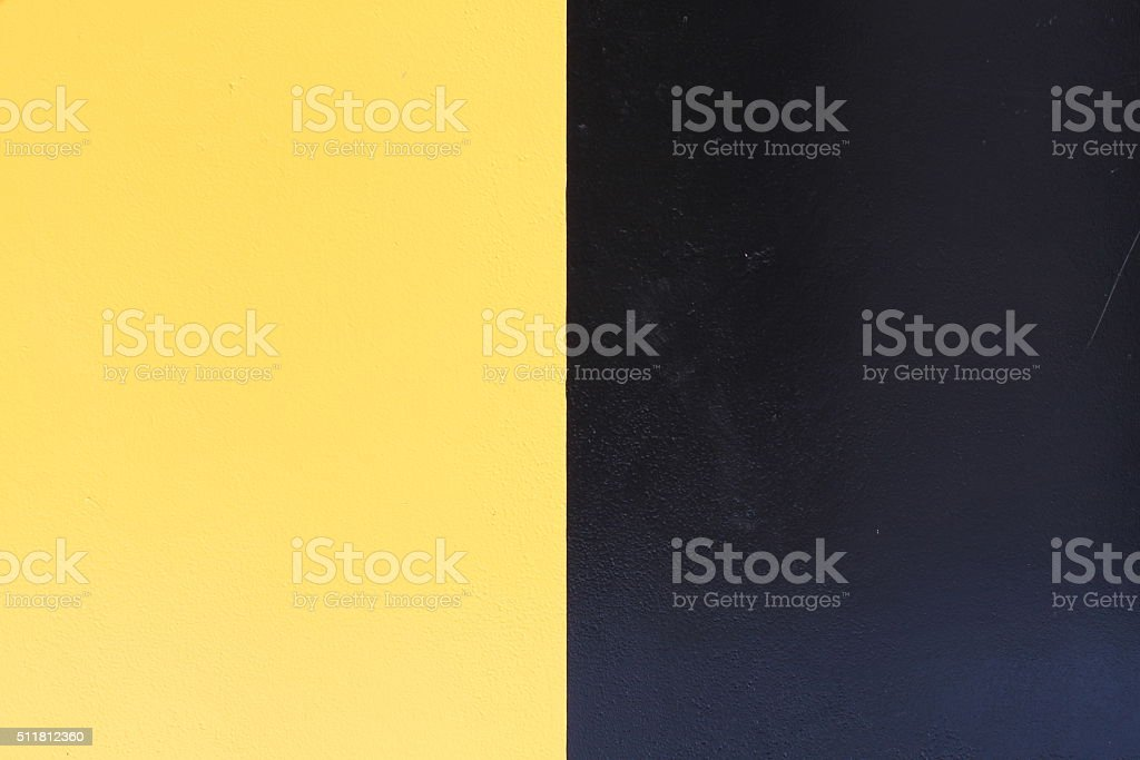 Yellow and Black Color Block Background stock photo