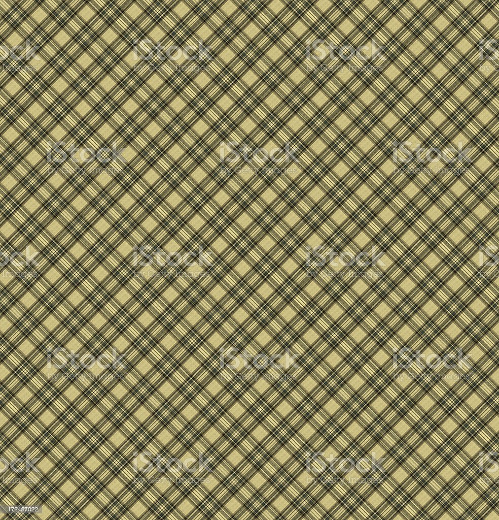 Yellow and Black Gingham Tablecloth Pattern royalty-free stock photo