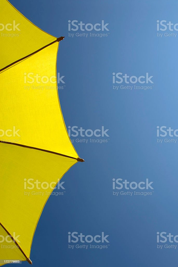 Yellow and Blue stock photo
