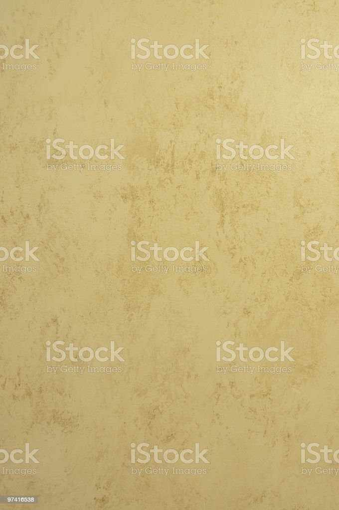 yellow and brown  hand painted wall royalty-free stock photo