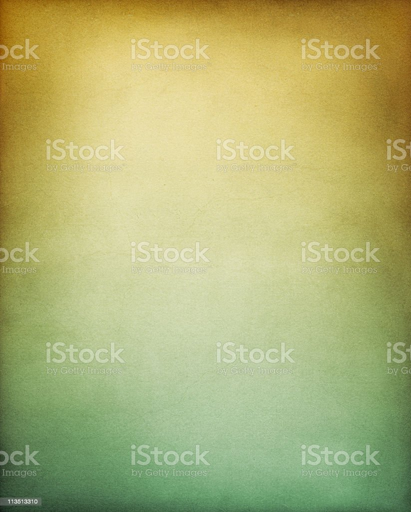Yellow and green background wall surface stock photo