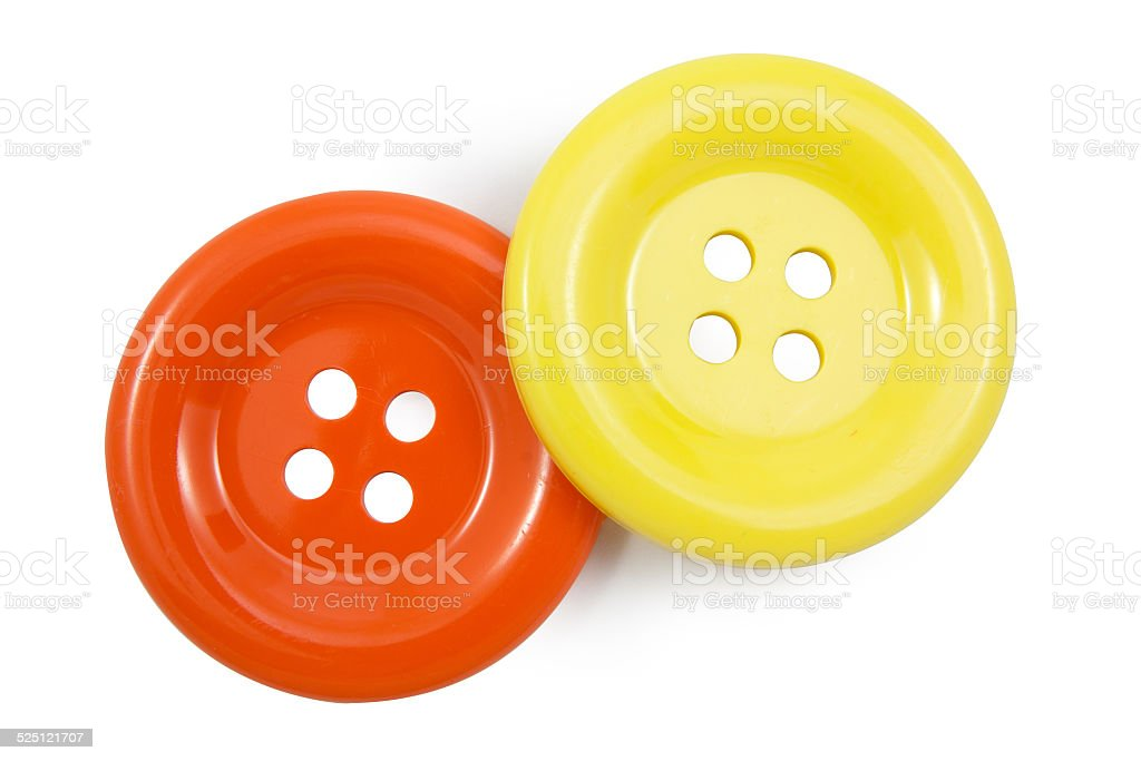 yellow and Orange clasper stock photo