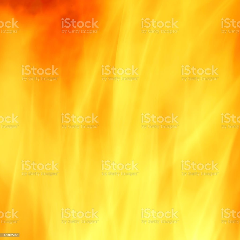 A yellow and orange fire background royalty-free stock photo