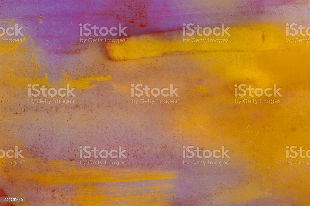 Yellow and Purple Stone Macro royalty-free stock photo