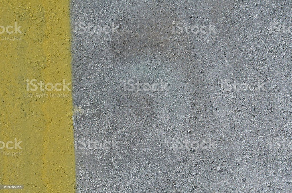 Yellow and silver paint background stock photo