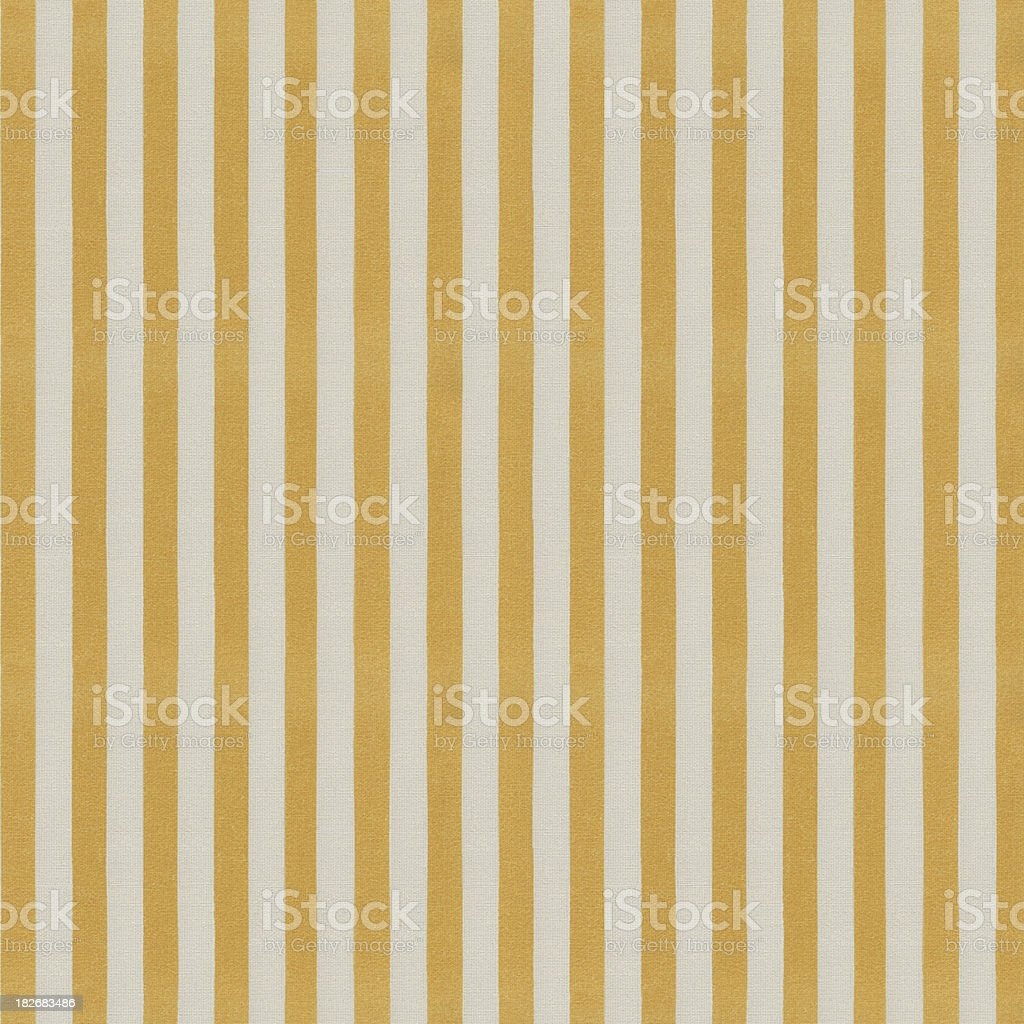 Yellow and White Stripped Tablecloth Pattern royalty-free stock photo