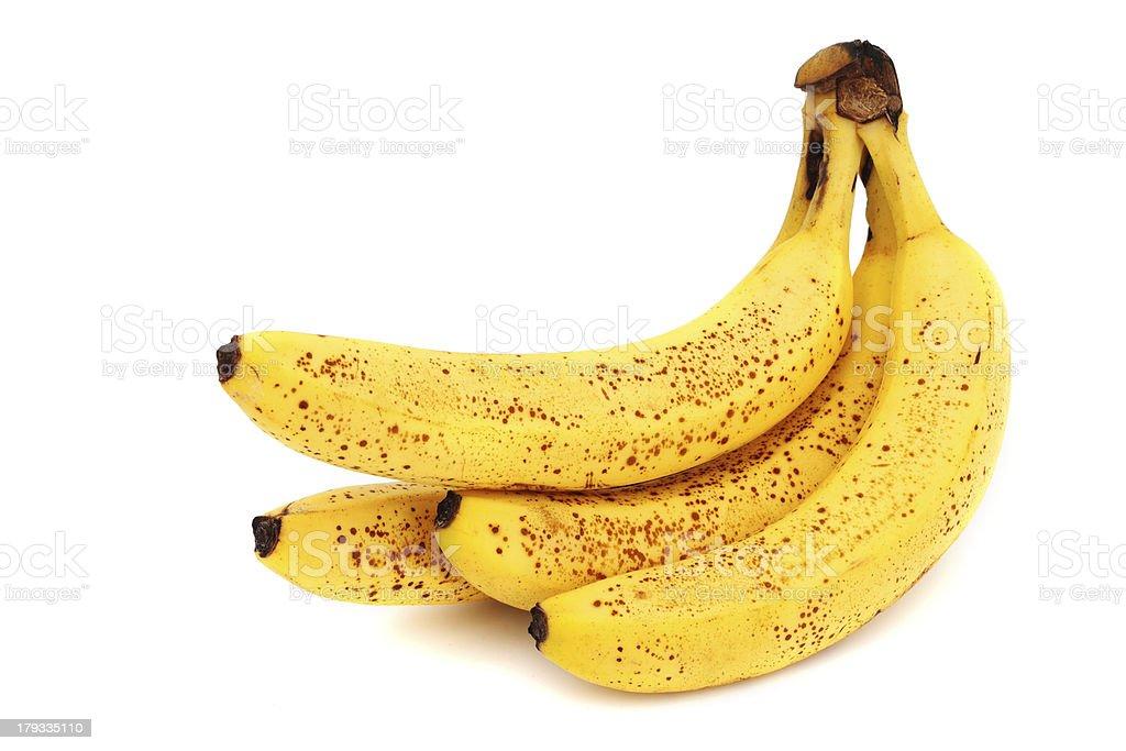 yellow bananas royalty-free stock photo