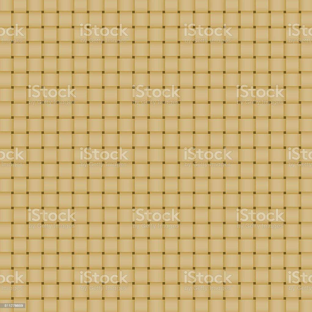 Yellow Basketwork pattern. stock photo