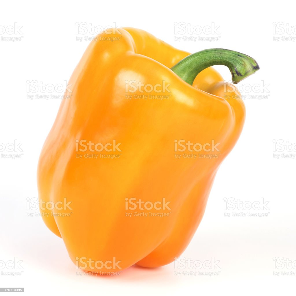 Yellow Bell Pepper royalty-free stock photo