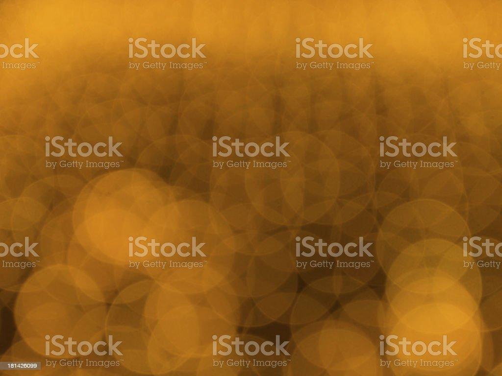 yellow bokeh royalty-free stock photo