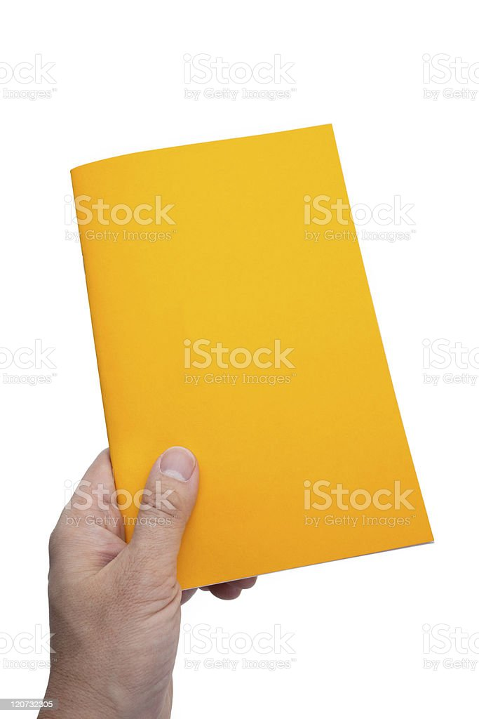 Yellow Book royalty-free stock photo