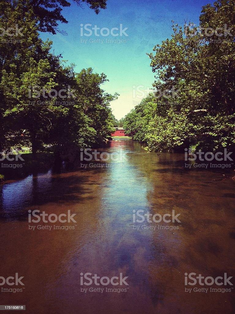 Yellow Breeches Creek royalty-free stock photo