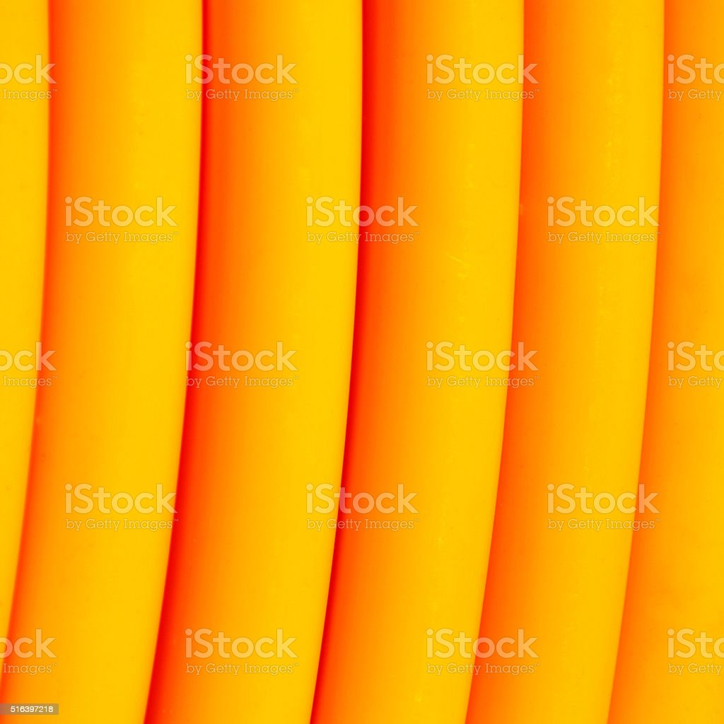 Yellow broadband cable stock photo
