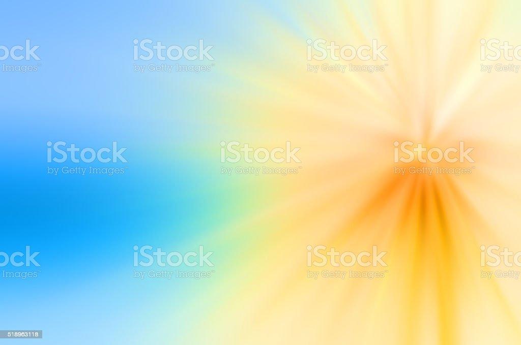 Yellow Burst Light Beam Abstract Background stock photo