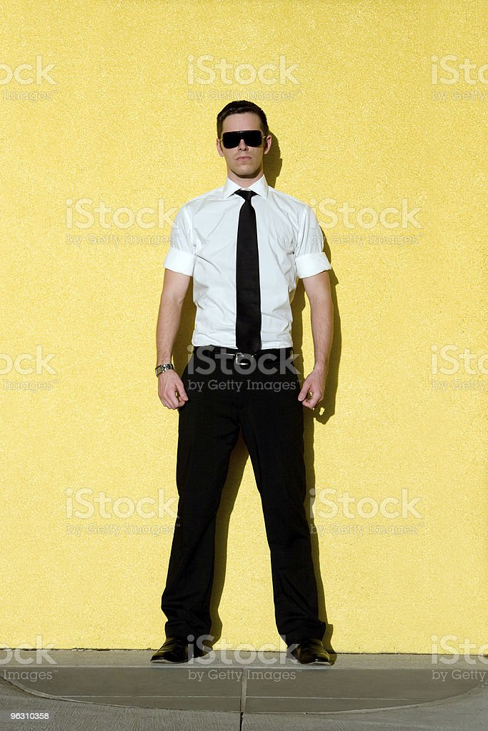 Yellow business royalty-free stock photo