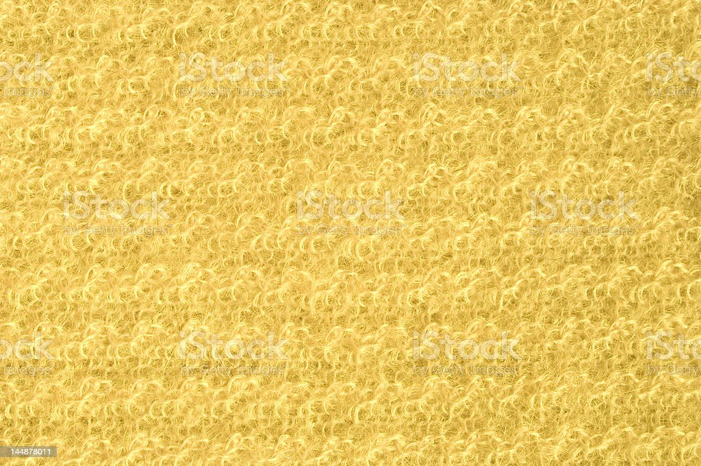 Yellow cachemire royalty-free stock photo