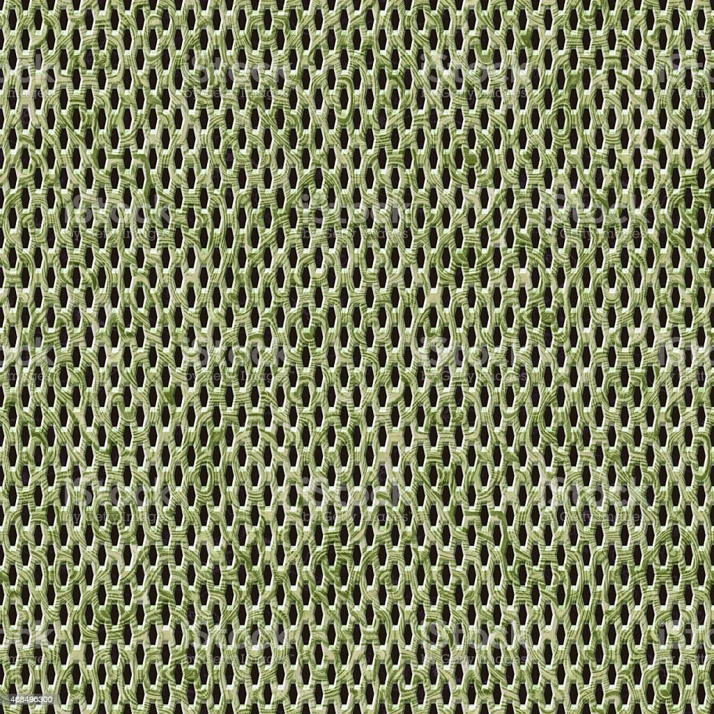 Yellow camouflage seamless wire mesh texture vector art illustration