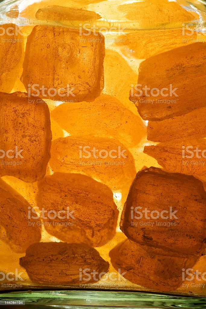 yellow candy royalty-free stock photo