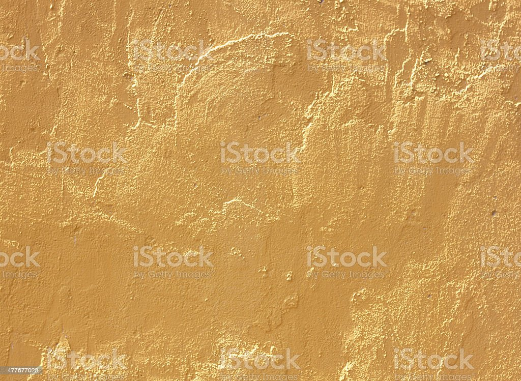 Yellow cement wall royalty-free stock photo