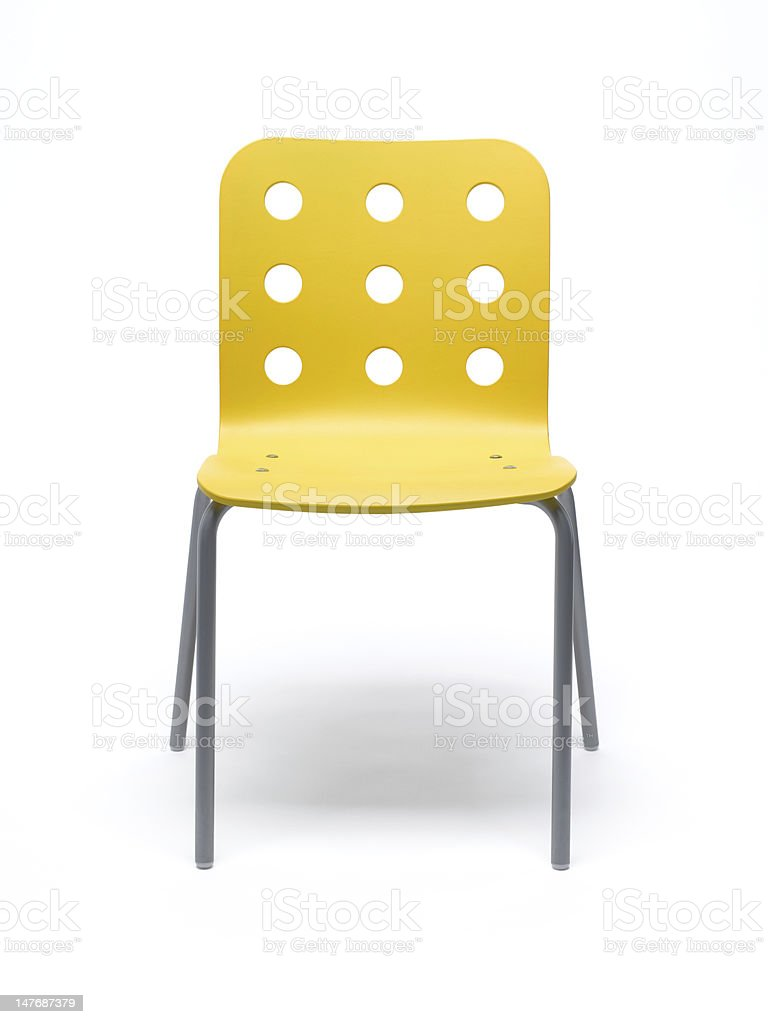 Yellow Chair stock photo