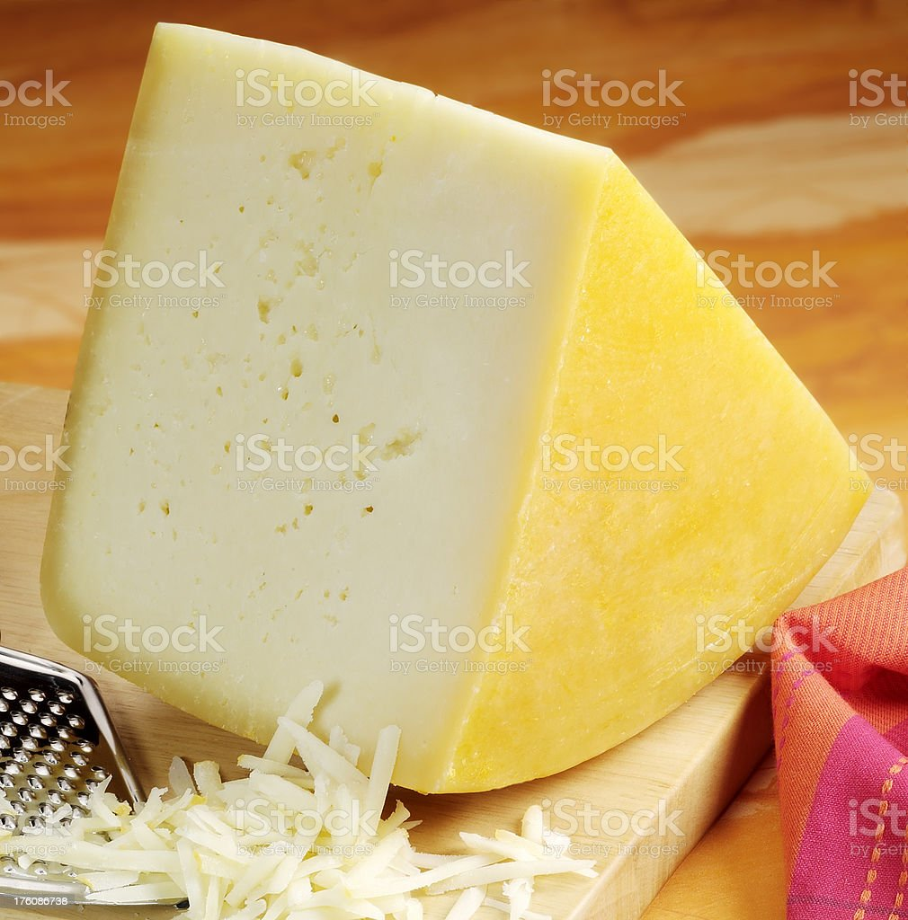 Yellow cheese royalty-free stock photo