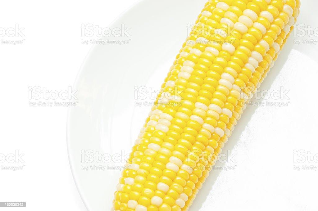 Yellow corn royalty-free stock photo