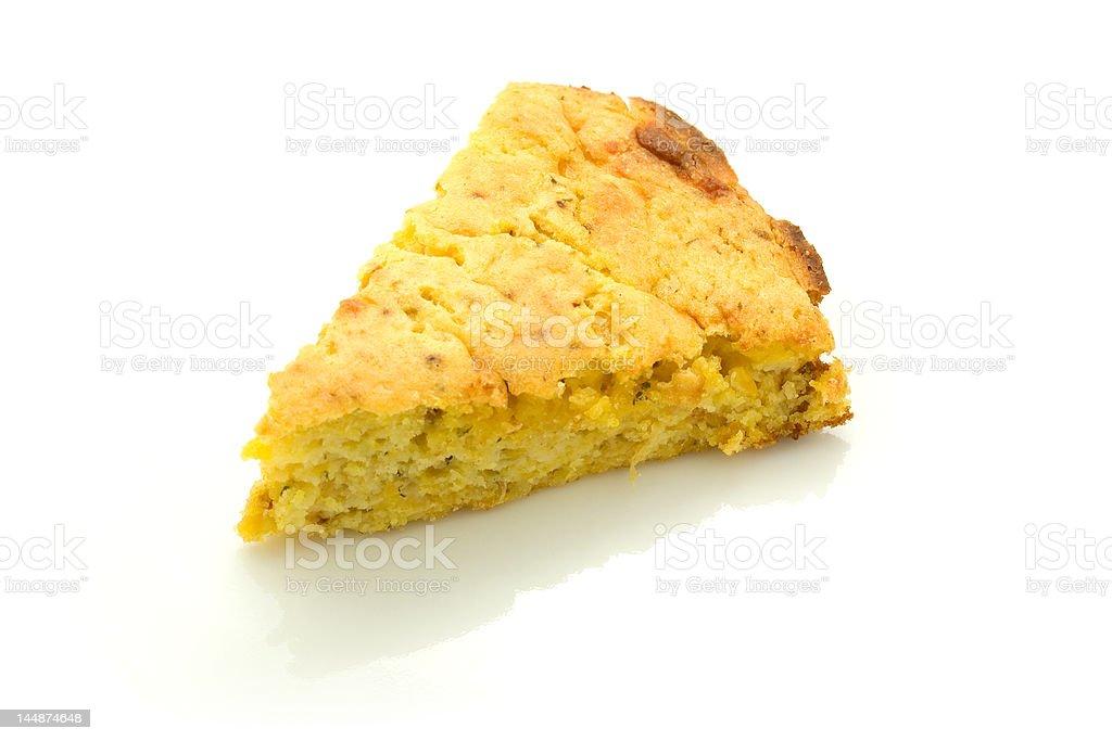 Yellow Cornbread stock photo