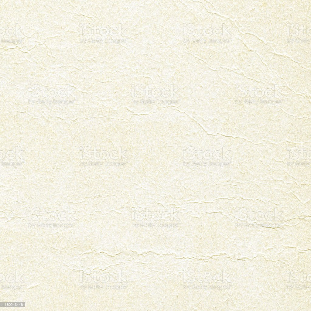 yellow creased paper texture royalty-free stock photo
