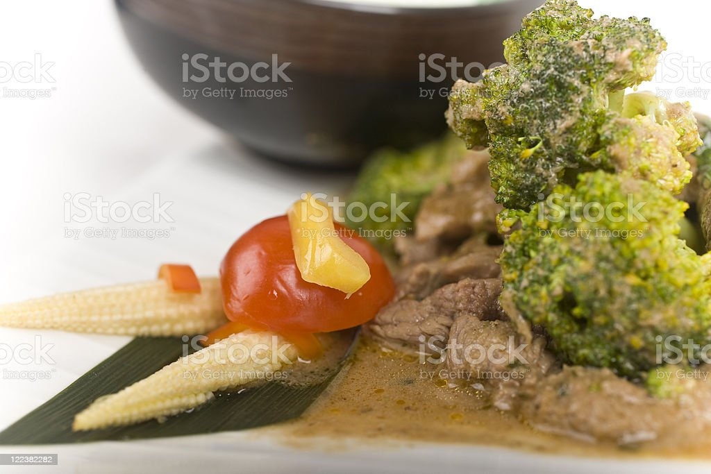 Yellow Curry stock photo