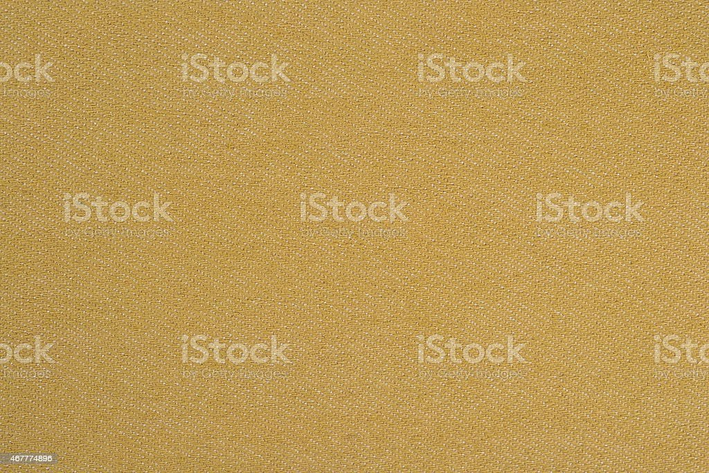 Yellow denim background stock photo