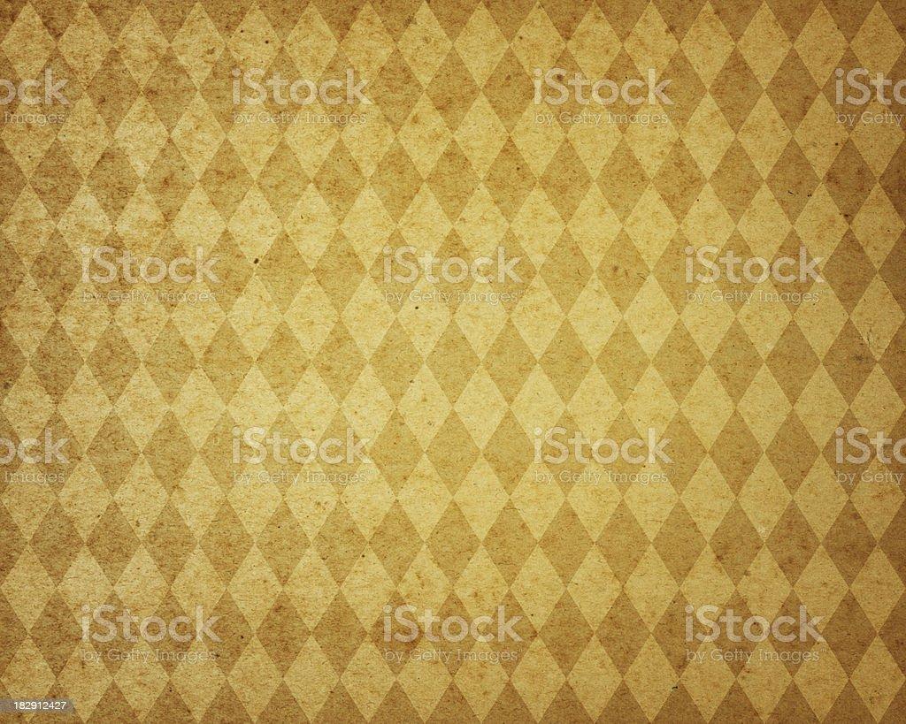 yellow diamond pattern paper royalty-free stock photo