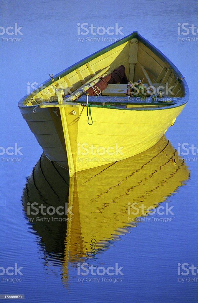 yellow dory royalty-free stock photo