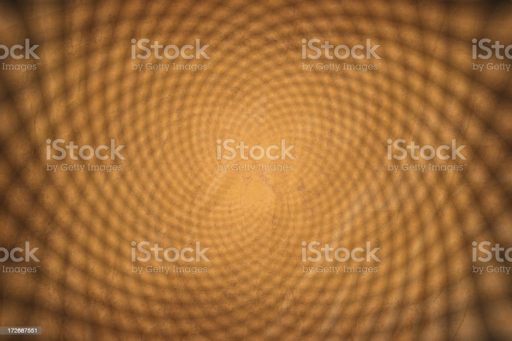 yellow double swirl grunge wallpaper background royalty-free stock photo