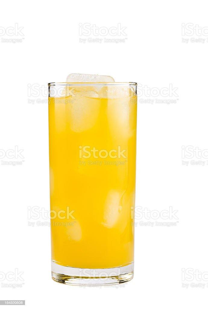 Yellow drink stock photo