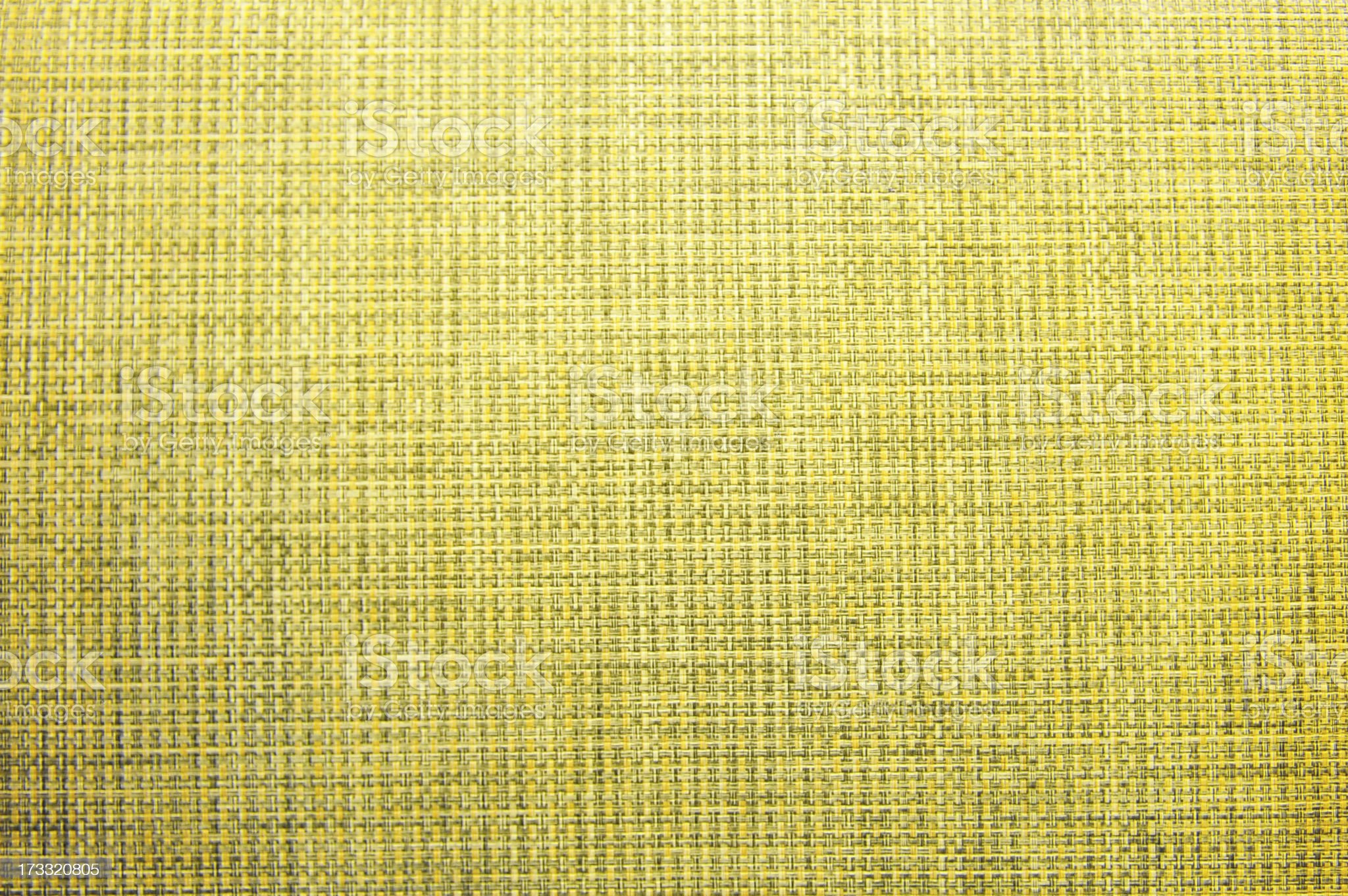Yellow fabric texture royalty-free stock photo