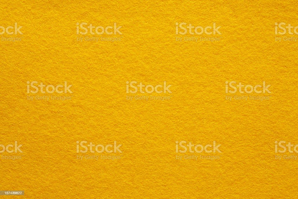 Yellow Felt background (part of series) stock photo