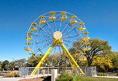 Yellow Ferris Wheel at PotashCorp Playland at Kinsmen Park Saskatoon