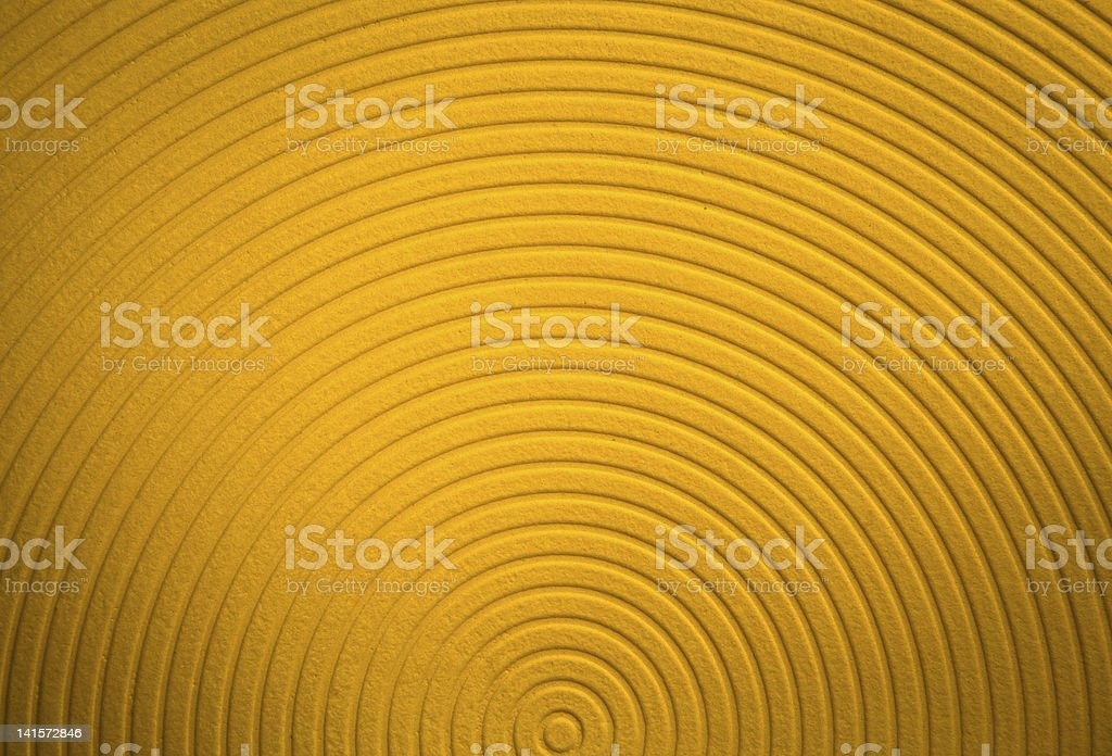 Yellow funky background royalty-free stock photo