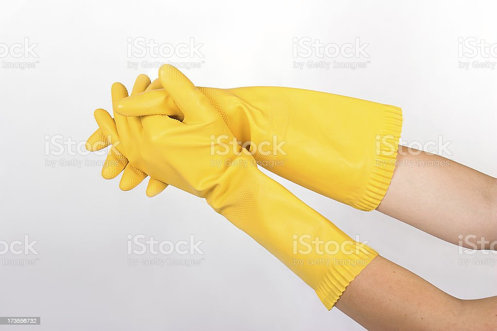 Yellow G 4 royalty-free stock photo