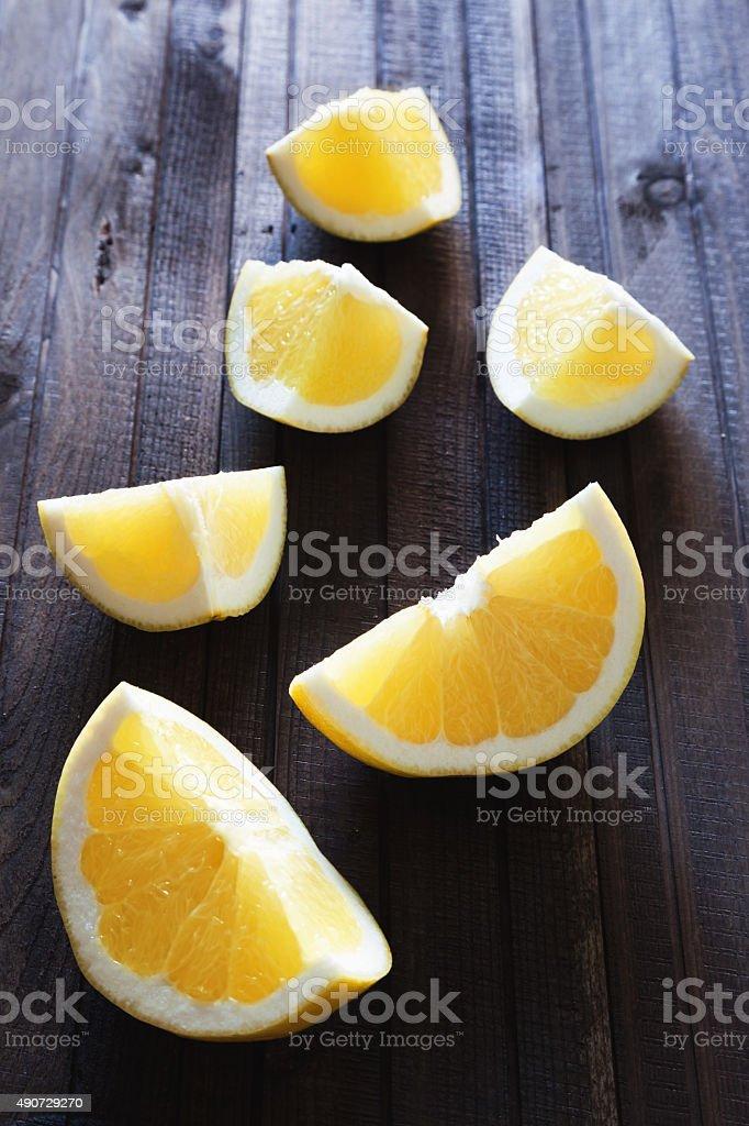 yellow grapefruit stock photo