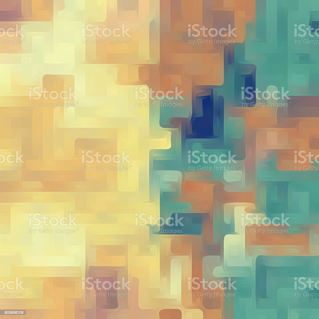 yellow green and brown painting abstract background stock photo