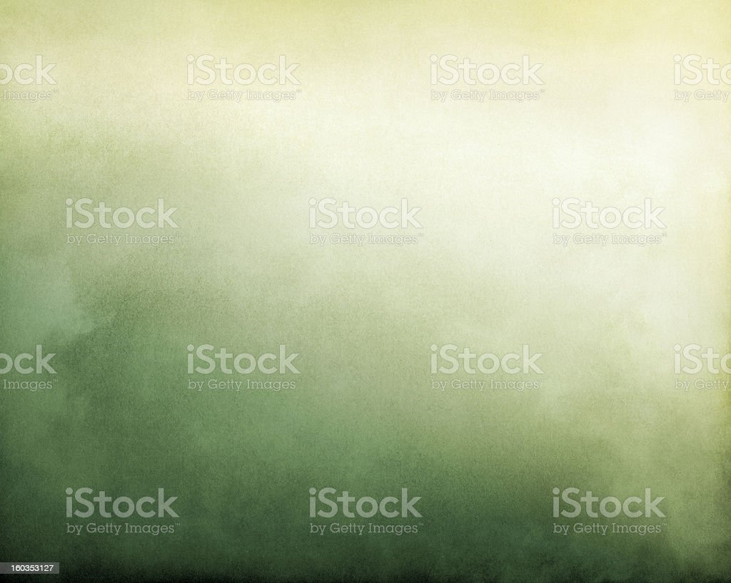 Yellow Green Fog stock photo