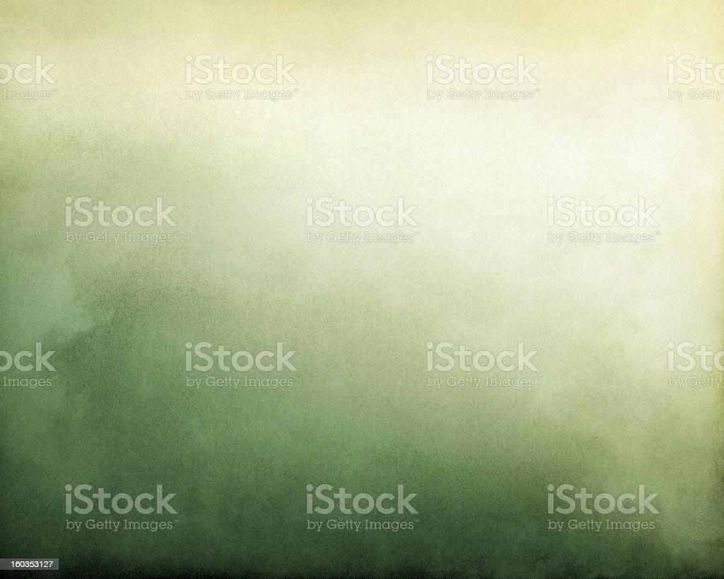 Yellow Green Fog stock photo