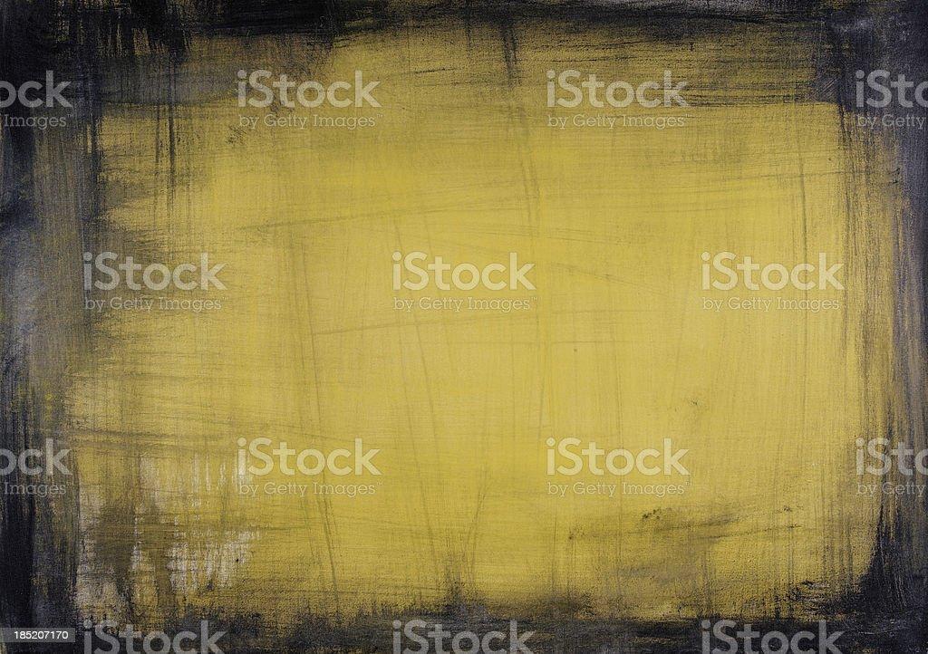 Yellow Grunge Texture (XXXL) royalty-free stock photo
