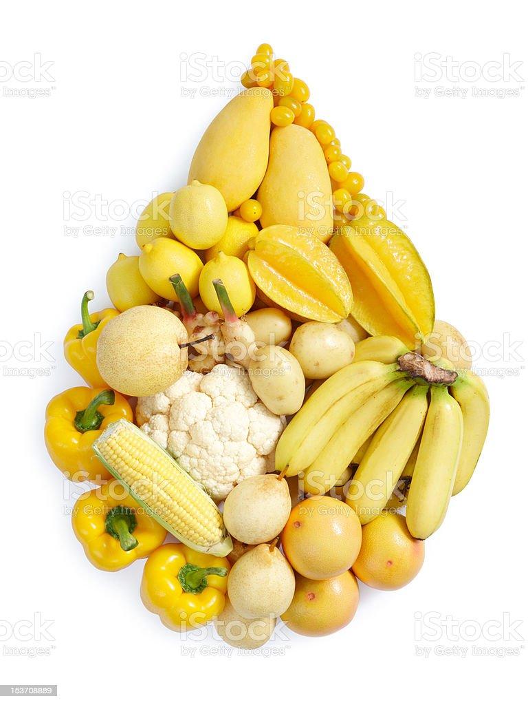 yellow healthy food royalty-free stock photo