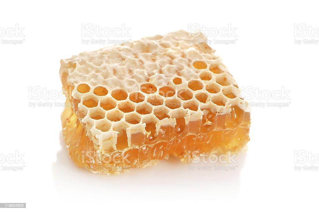 Yellow honey stock photo